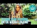 Tutorial Hijab Vemale: Hijab Pashmina untuk Wajah Lonjong