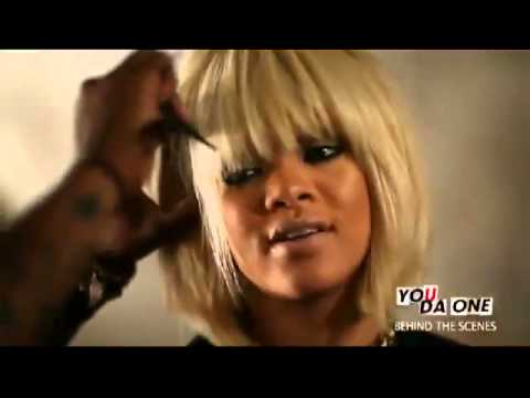 Behind The Scenes with Rihanna - You Da One
