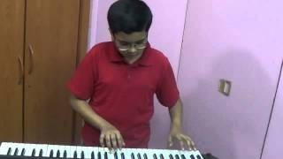Galiyan - Hindi Song played on Keyboard by Dishant Vyas