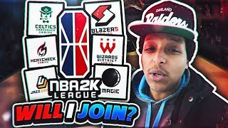 WILL I TRY TO JOIN THE NBA 2K LEAGUE?