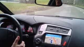 Citroen DS5 So Chic: Driving, Dashboard and Head up display