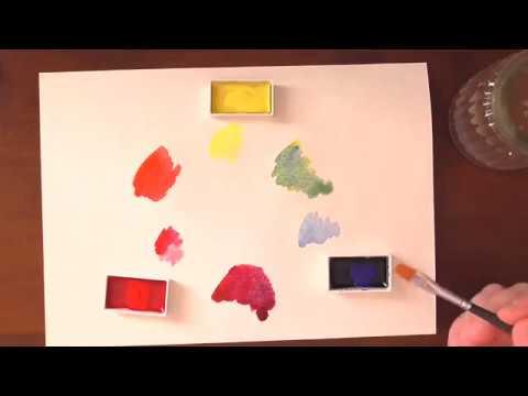Quick Tip Farben Mischen Farbenlehre Hautfarbe Youtube