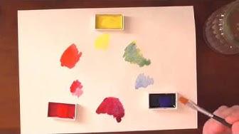 Quick Tip: Farben Mischen | Farbenlehre| Hautfarbe
