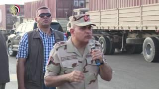 بالفيديو.. صدقي صبحي: الجيش يواجه السيول بمعدات المهندسين العسكريين