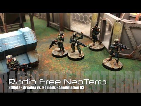 Radio Free NeoTerra - Infinity N3 Battle Report - Ep 03