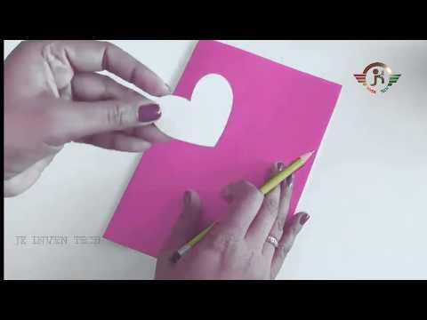 Valentine's Day card idea Beautiful Handmade-2020-jk inven tech