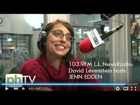 Jenn Edden day 1 broadcast @ L.I. News Radio (103.9FM)