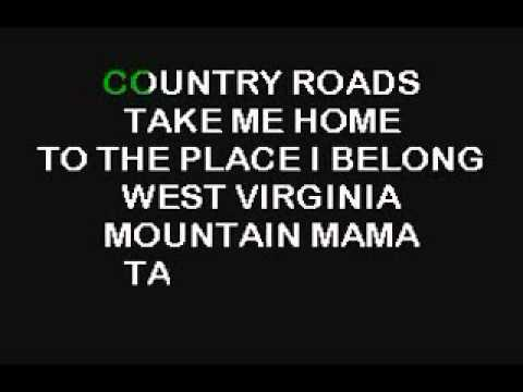 Karaoke-Country Roads-A.flv