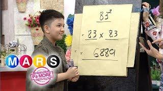 Mars Pa More: Batang human calculator, kilalanin! | Little Lodi