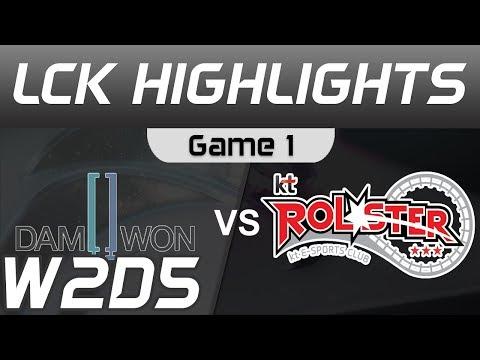 DWG vs KT Highlights Game 1 LCK Spring 2020 W2D5 DAMWON Gaming vs KT Rolster LCK Highlights 2020 by