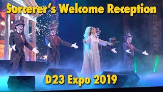 Haunted Mansion-Themed Sorcerer's Reception | D23 Expo 2019