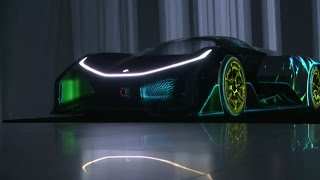 Faraday Future unveils its electric hypercar — CES 2016