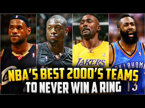 GREAT NBA Teams To NEVER Win A Championship - From 2000 - 2016!