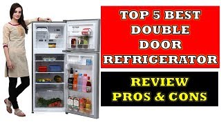 Top 5 Best Double Door Refrigerators with Price - Review with Pros & Cons [Hindi]