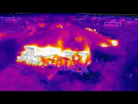 DJI Mavic 2 Enterprise Dual (M2ED) First Utilized On a Structure Fire