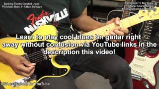 BEGINNER BLUES YouTube Tutorial Series EricBlackmonMusic EEMusicLIVE