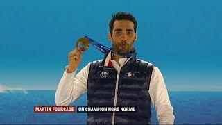 Pyeongchang (J.O. 2018) : MARTIN FOURCADE le sportif français le plus titré