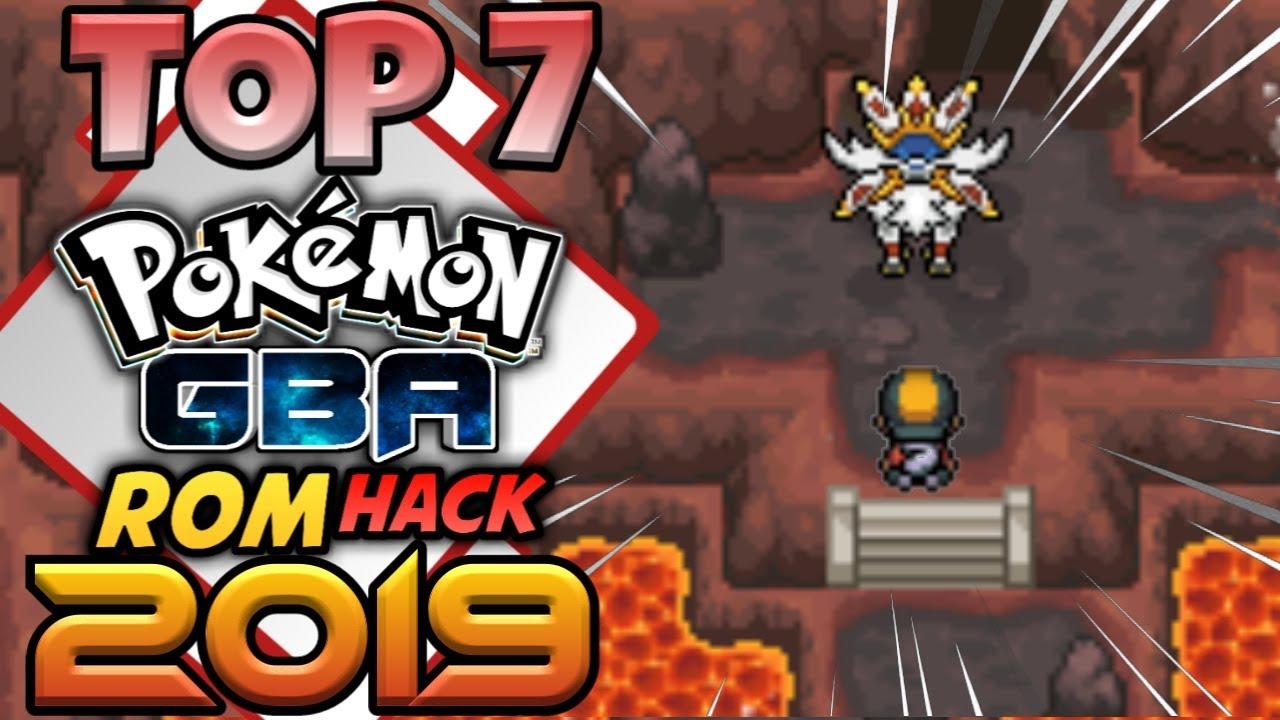 Top 7 Pokemon Gba Rom Hacks With Gen 7 Youtube