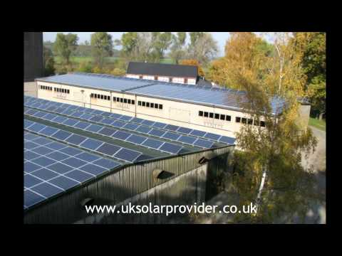 UK Solar Provider -Solar Energy Photovoltaic Systems. Aleo Panels and SMA  Installation