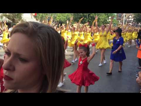 2017 Dance the Magic! Parade at Disneyland July 7, 2017