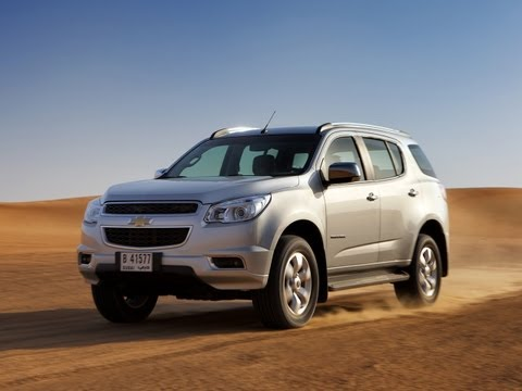 Chevrolet Trailblazer 2013 цены и комплектации. Первый взгдяд Mihelson.tv