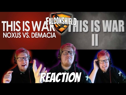 This Is War 1-2 REACTION | Music by Falconshield