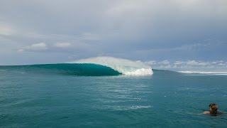 Left or Right? Pumping Mentawai Barrels!