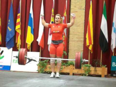 Lydia Valentin Copa De España 140kg