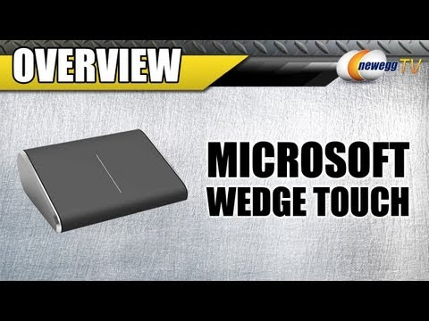Newegg TV: Microsoft PL2 Wedge Mobile Touch Scroll Bluetooth Wireless BlueTrack Mouse Overview