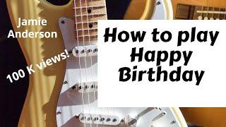 How to play Happy Birthday