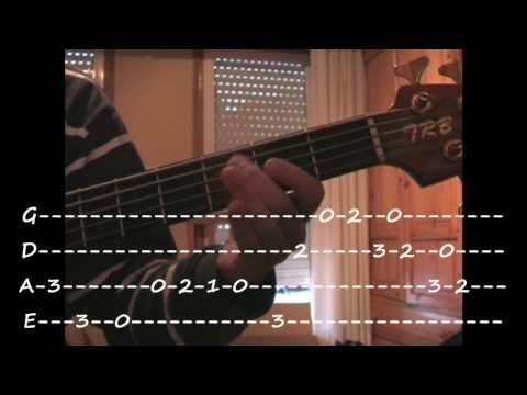 Super Mario Bros Theme (Bass Cover with Tab)
