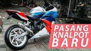 GANTI KNALPOT LAGI - Honda CBR250RR #vlog 290