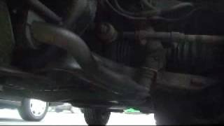 What does a broken sway bar link sound like? Watch and listen.