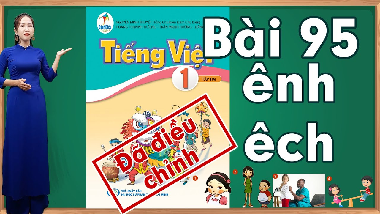 Tiếng việt lớp 1 sách cánh diều tập 2 - Bài 95|Bảng chữ cái tiếng việt |learn vietnamese