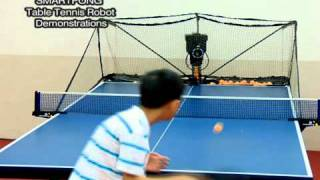 Repeat youtube video SMARTest pingPong Table Tennis Robot