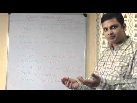 Understanding  VAT (Value Added Tax) & CST (Central Sales Tax) in India