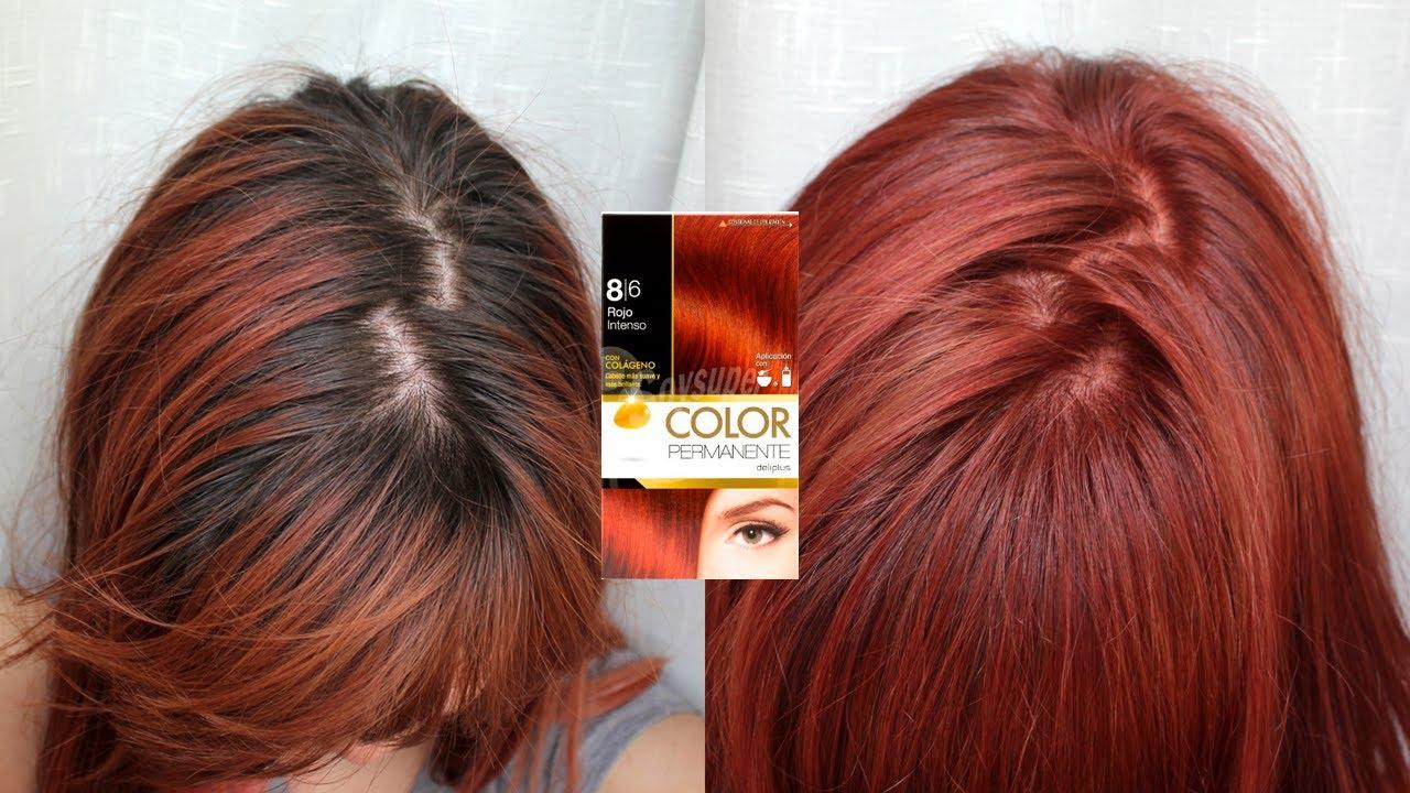 Resultados Tinte Rojo Mercadona 8 6 Tono Sobre Tono 6 6