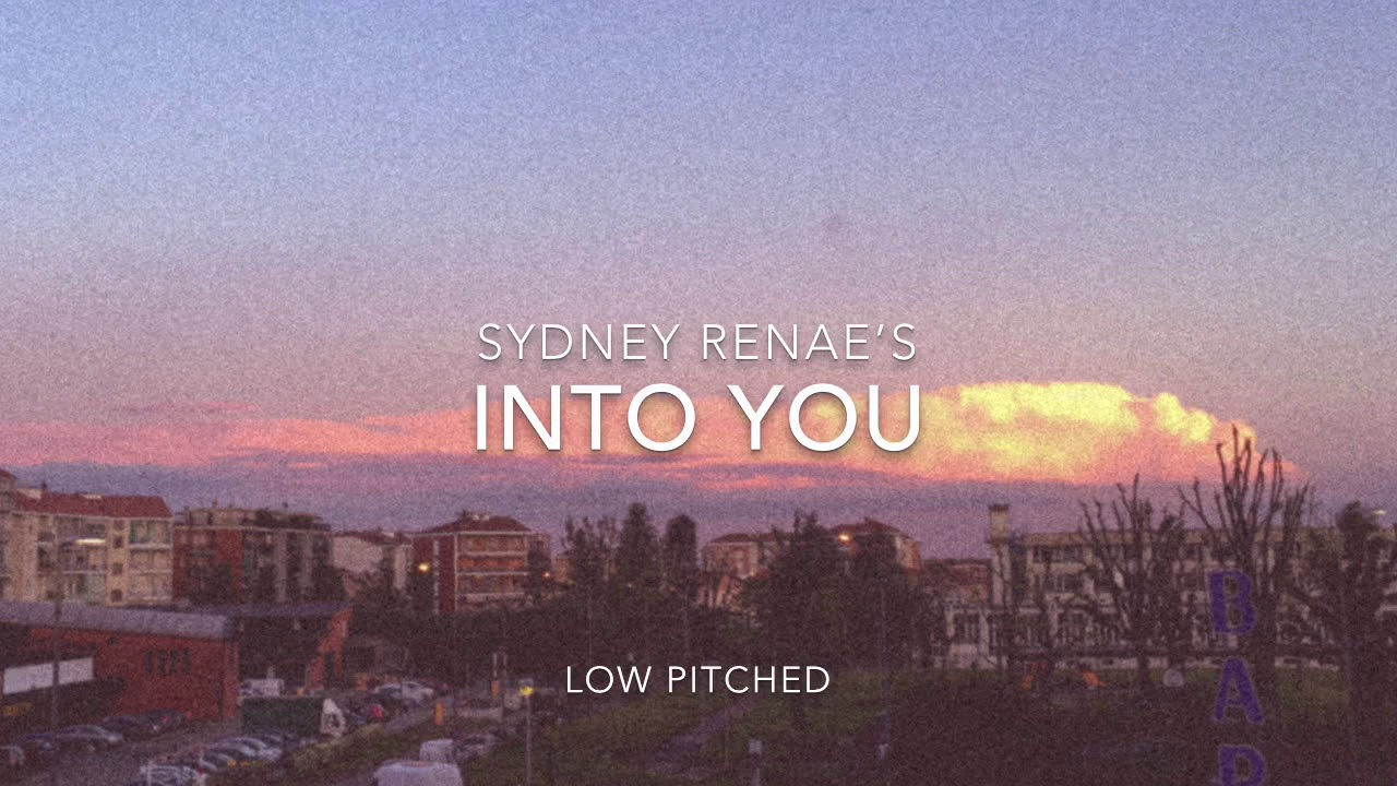 Download Into You - Sydney Renae (low pitched tiktok ver.)