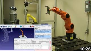 Calibração do robô - RoboDK