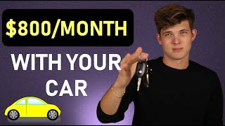 7 Ways To Make Money With Your Car!