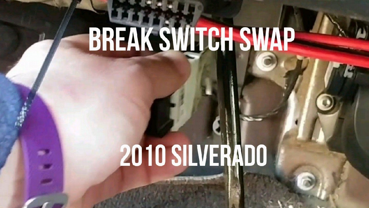 Brake Switch Swapped Out Part 2 2007 2014 Chevy Silverado 2010 Gm Wiring Sierra