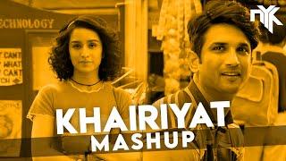 Khairiyat | DJ NYK Mashup | Arijit Singh | Sushant Singh Rajput | Shraddha Kapoor | Chhichhore