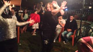 Свадьба, арабский танец Рабаб