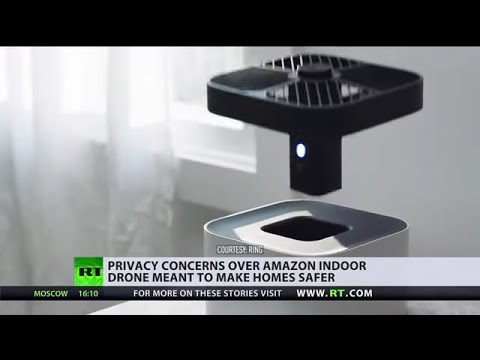 Big Brother for your home? | Amazon unveils a flying spy