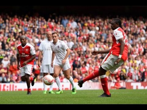 Nwankwo Kanu | Highlights Skills Goals | 03/09/2016 (Arsenal Legends vs Milan Legends) | HD
