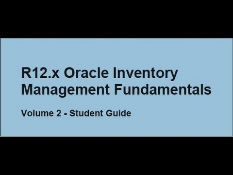 Oracle Inventory Part 24 (Control Options And Restrictions)