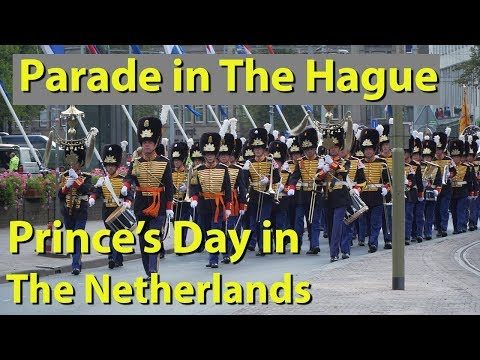 Parade in The Hague, Netherlands, Prinsjesdag, Prince's Day