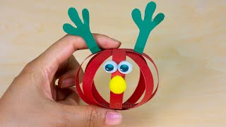 Paper Ball Reindeer Craft 🦌 Fun Christmas Craft for Kids | Easy Christmas Crafts 🦌🦌
