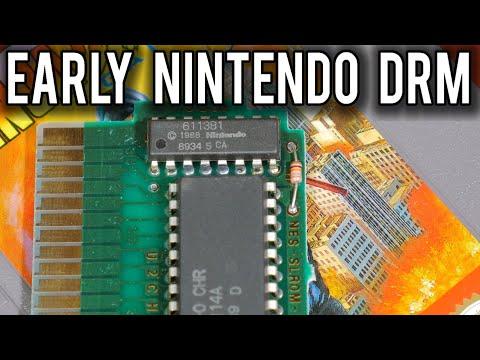Secrets of the Nintendo CIC Chip - Early Cartridge Anti-Piracy | MVG