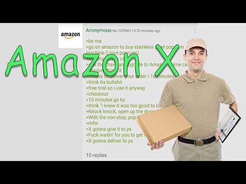 Greentext Reading- Amazon X